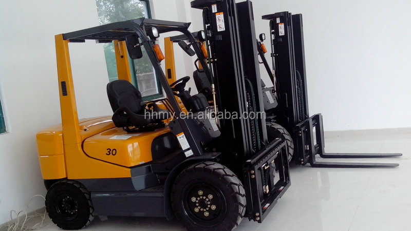 new TCMC forklift 3.5 ton hyster forklift engine in shanghai china