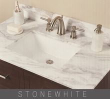 China Factory Low Cost Snow White Marble Countertop