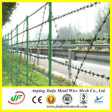 Best quality barbed wire roll price fence (14 years' manufacturing in Anping Jiufu)