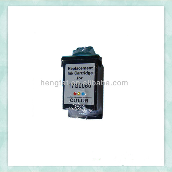 Remanufactured ink cartridge for Lexmark 60 / 17G0060