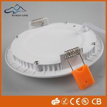Newest arrival brand SMD 85-265V christmas lights 12w round/square surface mounted downlight led panel