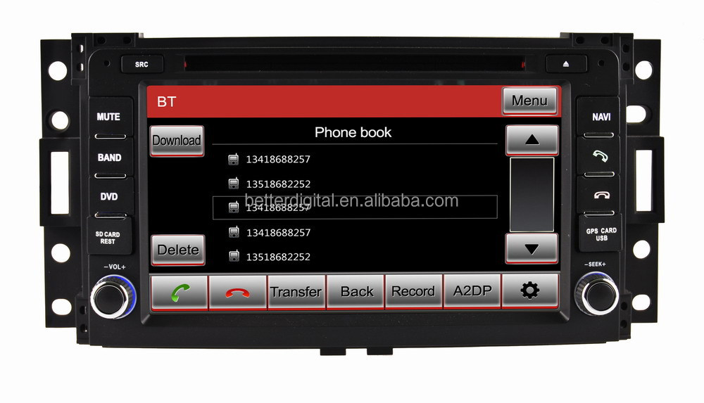 GPS for CHEVROLET Uplander CE/ROHS certificates