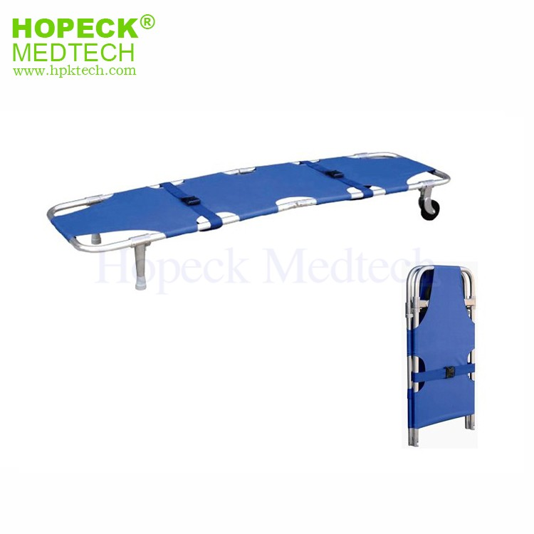 Emergency Aluminum Alloy Foldaway Stretcher