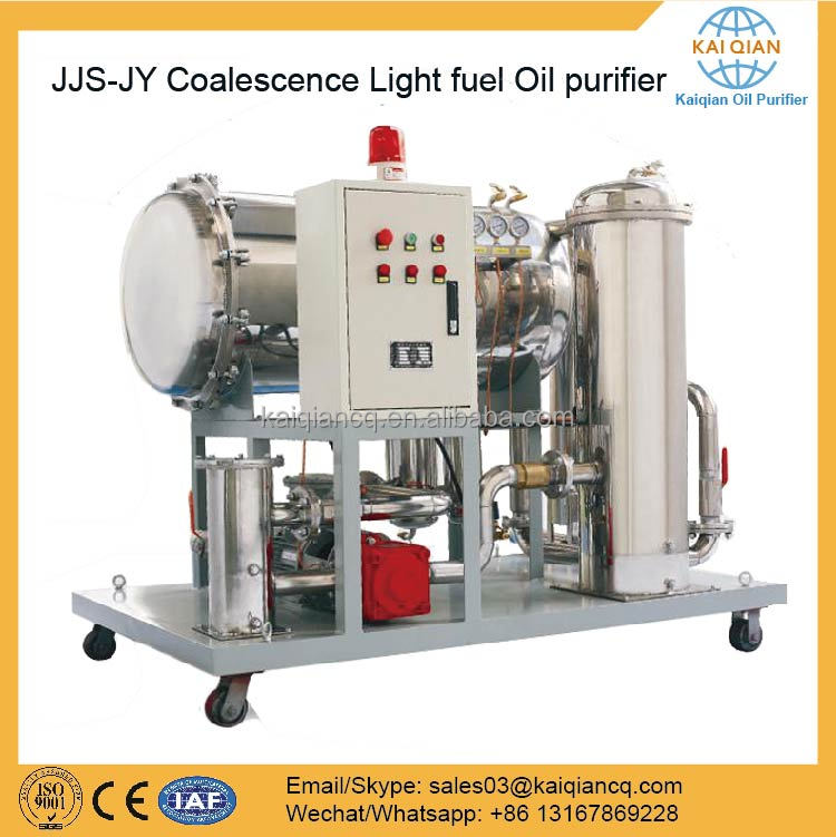 Waste Oil Recycling Plant Diesel Oil Purifier