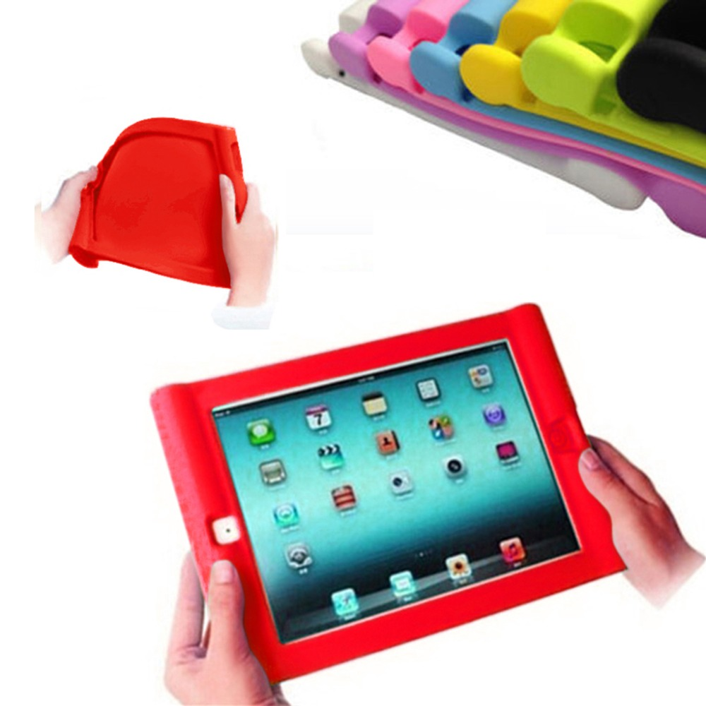 Protective Shockproof Silicone Case for iPad Mini 4 Retina Drop Proof Case Cover for Home Children Kids