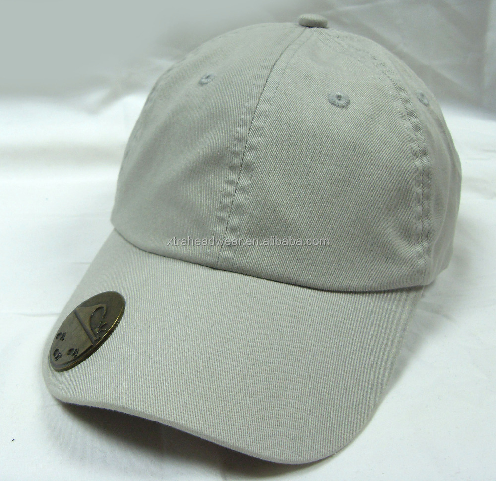 Bottle opener enzyme washed baseball cap and hat
