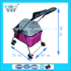Jiangsu Location Top Grade 4 WHeels Foldable Luxury Pet Stroller With rear brake