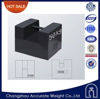 changzhou 50kg mass comparator, polished counterweight, calibrated weight plate