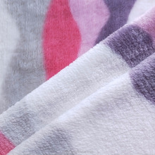 China supplier 100% polyester knitted Technics and plain printed flannel fabric for home textile blanket