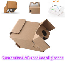 2017 custom made AR/MR 3D glasses Augmented Reality for Every Smartphone Virtual reality 3D glasses