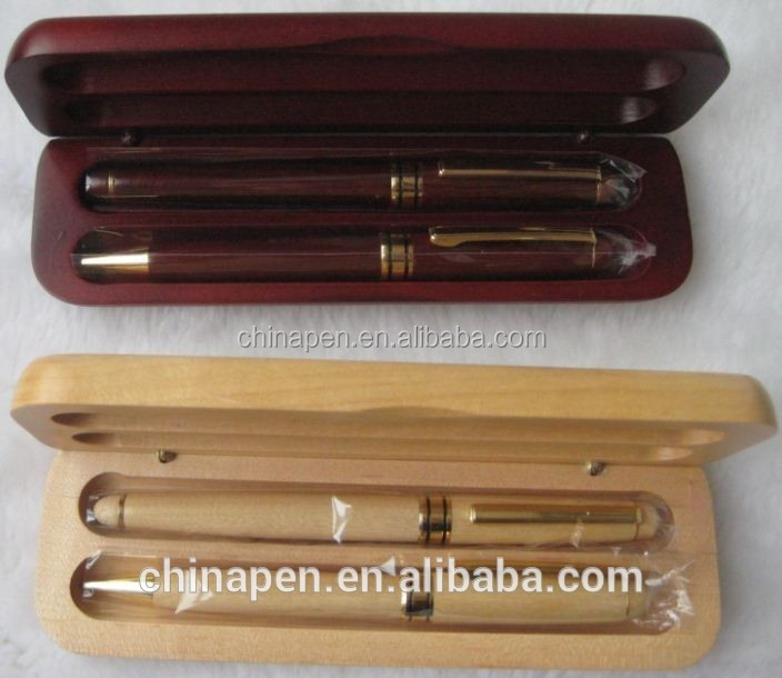 Hot selling wooden pen kits with wooden box