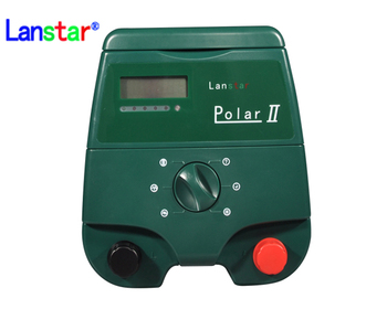 Lanstar 12V battery power solar electric fence energizer for elephants