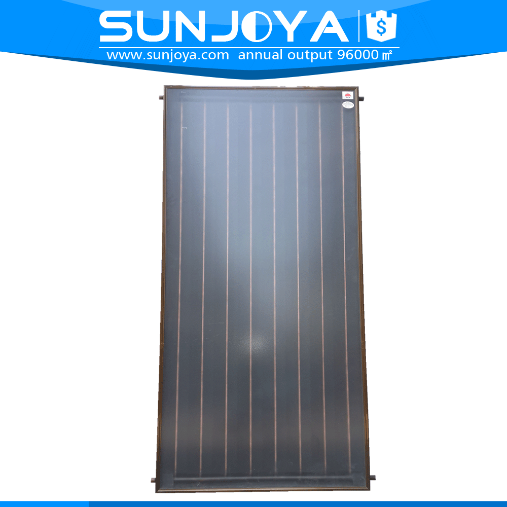 Black Chromium Selective Coating All Copper Absorber Solar Pool Collector