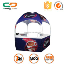 High quality steel dome booth with customized logo 10x10 kiosk