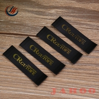 New Style Clothing Label Woven Label end fold