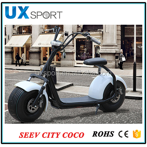 New 800w 60v 2 Wheel Citycoco Electric Bike/scooter/motorcycle