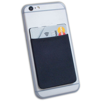 3M Sticker Smart Wallet Lycra Mobile Phone Card Holder