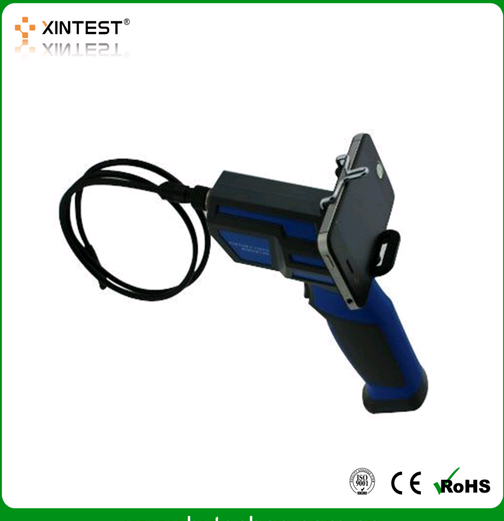 Connect Android & iPhone Pipe Wireless Portable WiFi Inspection Endoscope HT-665