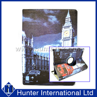 Clock Tower Rotating Tablet Case For iPad Air 2