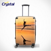 ABS+PC Luggage Set /High Quality ABS Trolley Suitcase/Hard Shell Fashion Printed ABS+PC Travelling Trolley Luggage Set