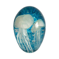 Clear cheap glass jellyfish paperweight wholesale