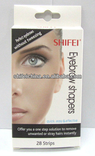 SHIFEI new series of eyebrow shaper waxing strips