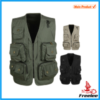 2015 Summer Man Fishing Photographer Vest with Many Pockets