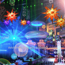 hot sale new brand inflatable lighting star on stage for club