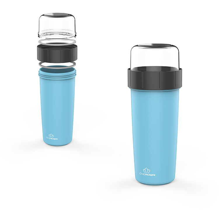 Eco friendly food grade PP BPA free lead proof new style hot sales Plastic Cup/Plastic Juice Cup Water/Soup Bottle