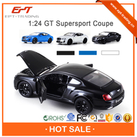 1:24 scale metal car toys licensed diecast model car