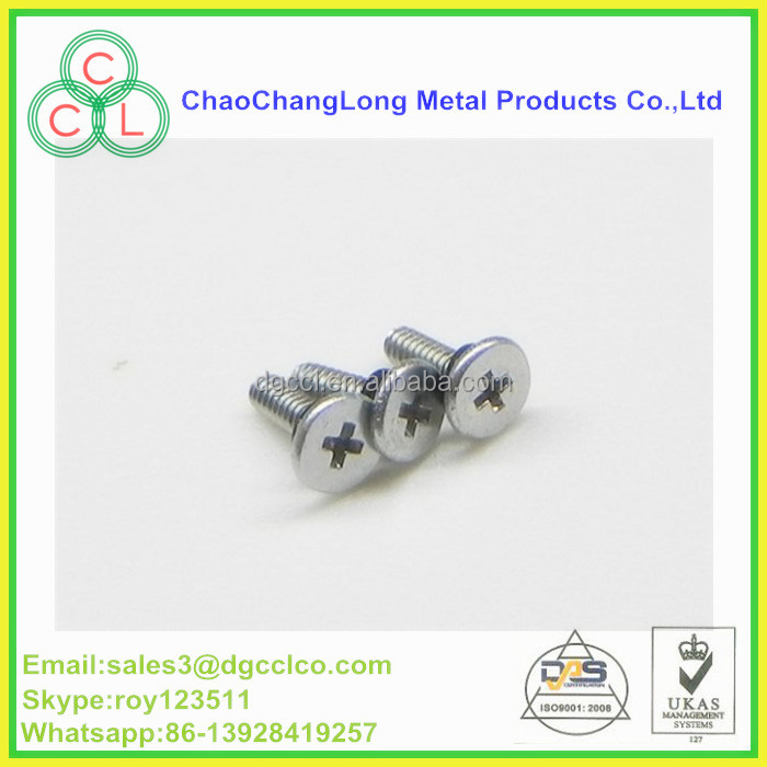 ROHS standard m3/m4 plain screw with nylon patch