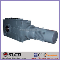 B series heavy duty helical right angle helical vertical shaft gearbox for milling machine gearbox