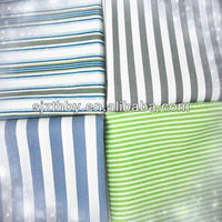 wholesale china blue and black stripe fabric