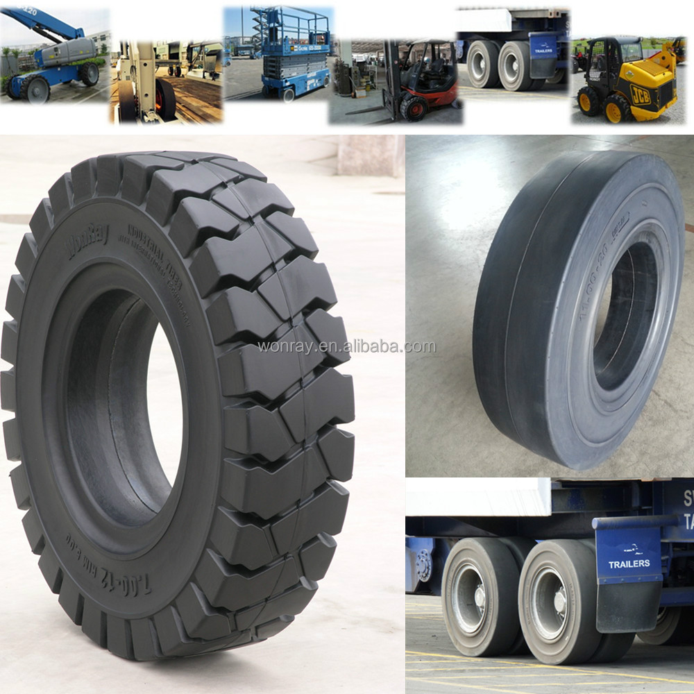 266x160 Chinese best price solid trailer tyres for truck trailers/heavy trucks/tow tractors
