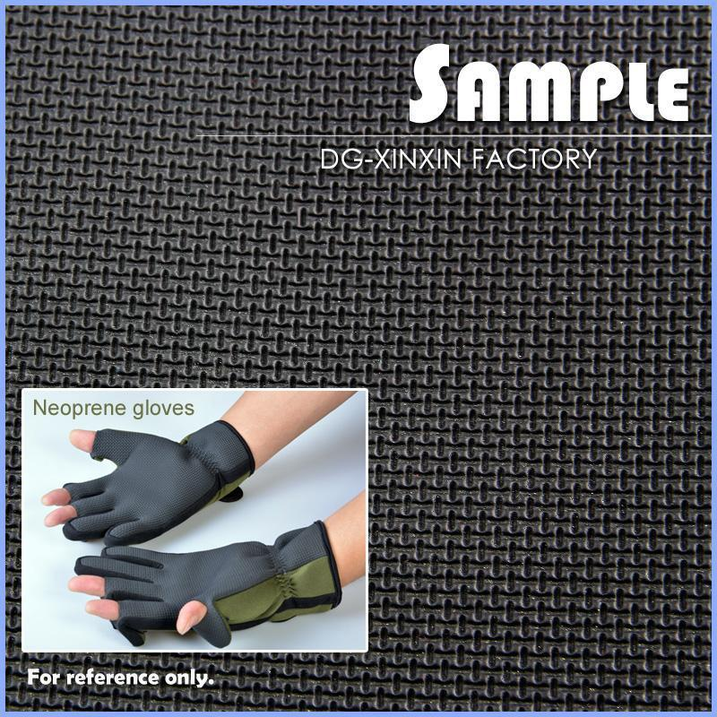 No-slip shark skin SBR Neoprene rubber sheet 3mm Neoprene sheet