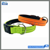 Dogs Application plain nylon dog collars personalized custom