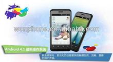 Hot sale ZTE V889S 4 Inch MTK6577 Dual Core Android 4.1 512M RAM 4GB ROM GPS Mobile Phone