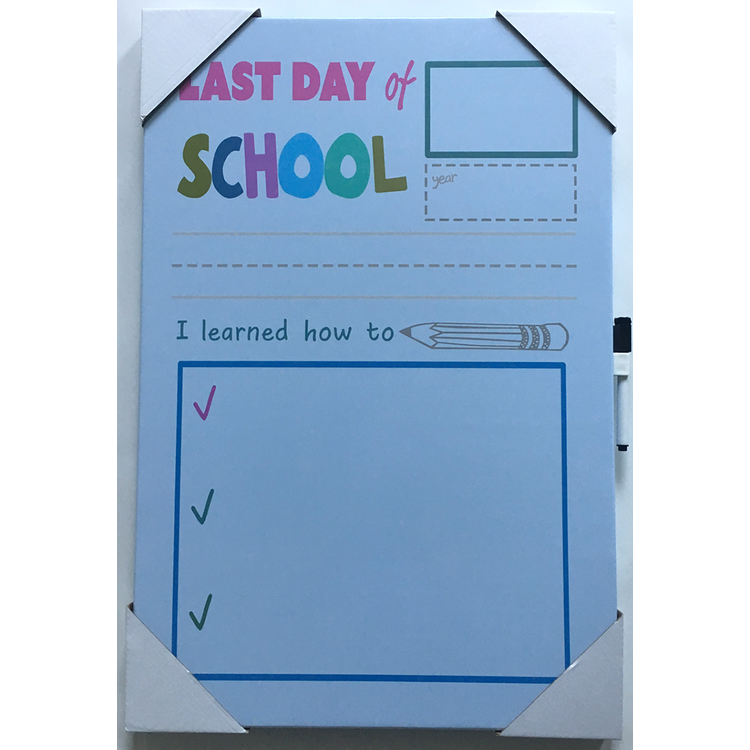 Modern design school kids white board decorations