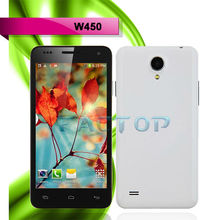 Cheap W450 Android 4.2 3G 4.5 Inch Quad Core mobile phone