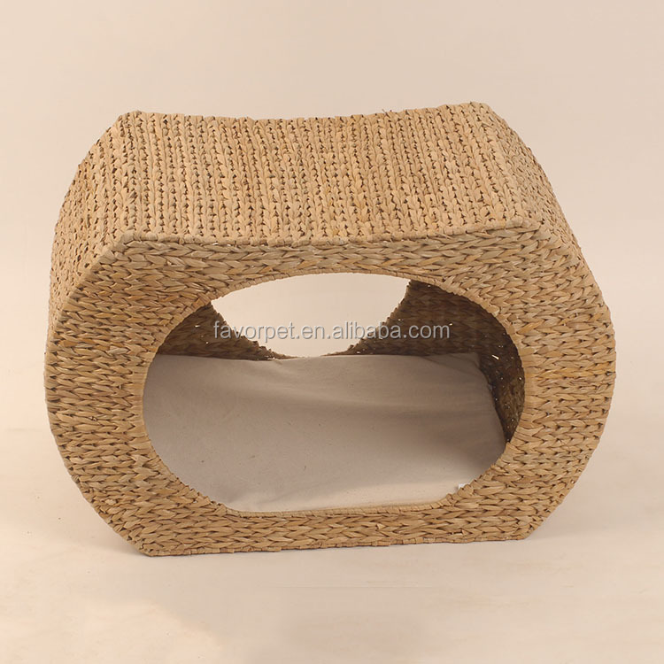 fashion internal material cave design raised cat beds