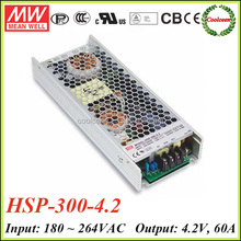 Meanwell HSP-300-4.2 4.2v dc power supply unit