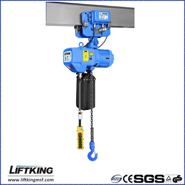 LIFTKING brand 2ton double speed crane using electric lifting chain hoist