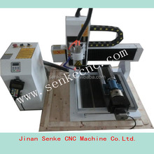 small pcb making driling machine Small economic jinan 3030/4040 optional mini CNC router