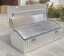 Top Opening Marine Grade Aluminum Ute Toolbox for Tradesman 2.5mm