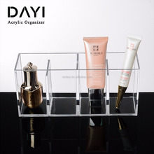 Countertop Clear Acrylic Organizer Makeup Storage, Acrylic Brush Holder