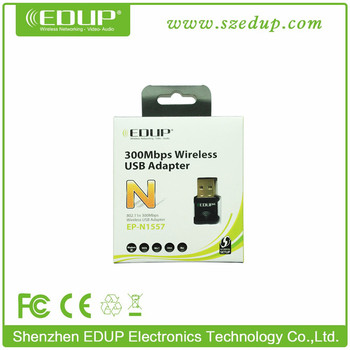 IEEE802.11B/G/N Mini 300Mbps Realtek Chipset Wifi USB Adapter IEEE802.11N USB Wireless Wan Adapter