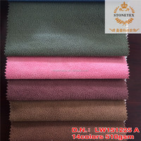 waterproof raw material foiled pu coated leather hot sale