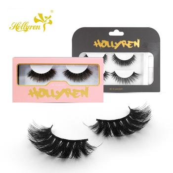Cashmere eyelash hollyren OEM custom package lashes