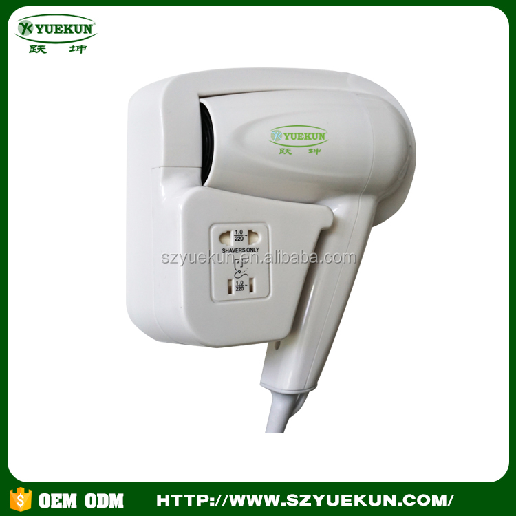 wall mounted professional hotel hair dryer new style professional blower hair dryer