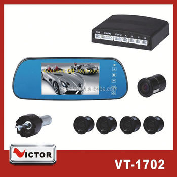 12V Bluetooth Vedio Car Parking Sensor System with night version camera VT-1702